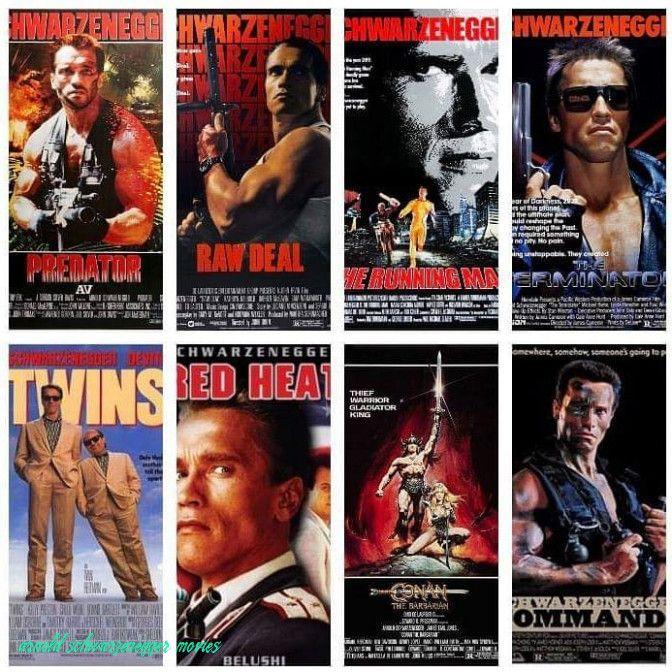 Arnold Schwarzenegger filmy