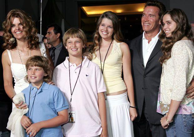 Arnold Schwarzenegger rodina
