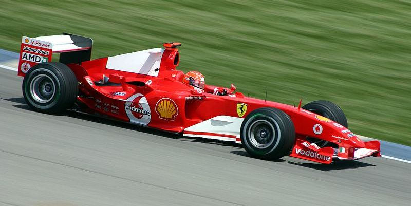 Michael Schumacher Tim Ferrari
