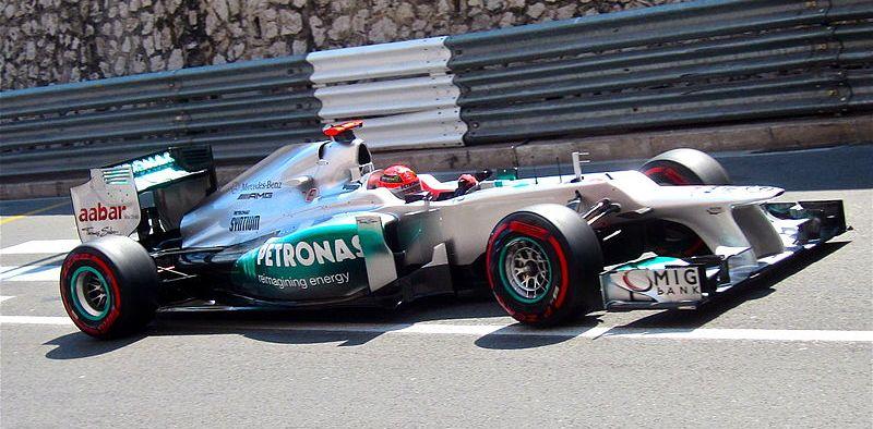 Michael Schumacher Tim Mercedes