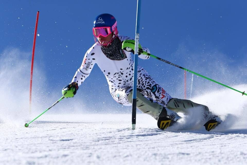 Profesionálna kariéra Veroniky Velez-Zuzulovej valpskom lyžovaní