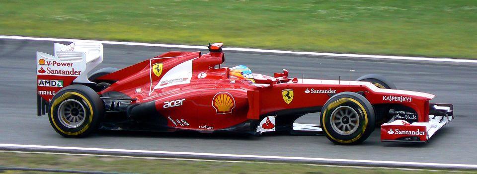 Fernando Alonso Tim Ferrari