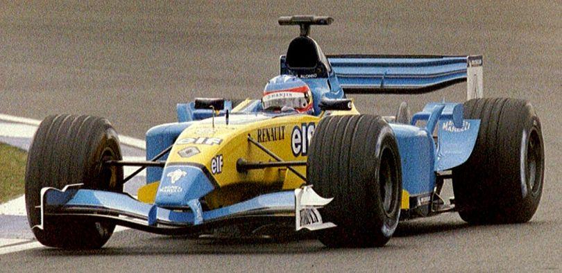 Fernando Alonso Tim Renault