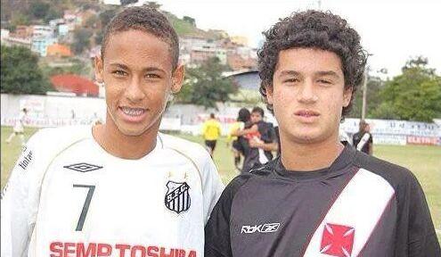 Junior azačiatky kariéry Neymara vBrazílii