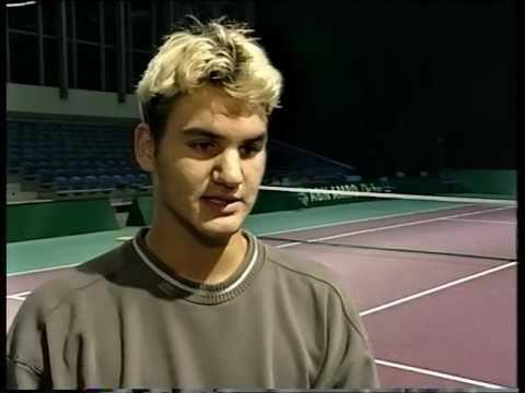 Junior azačiatky kariéry Rogera Federera na turnajoch Grand Slamu
