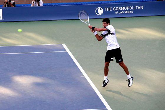 Novak Đoković at the 2010 US Open